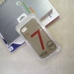 เคส iPhone7 Tpu นิ่ม สีเทาใส