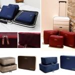 ชุดเชตกระเป๋าจัดระเบียบในกระเป๋าเดินทาง 1 เซต มี 3 ใบ จัดเก็บเสื้อผ้า ช่วยให้การเดินทางง่ายขึ้น