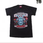 เสื้อยืดชาย Lovebite Size M - Kumamoto 1981