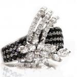 รหัส FUR18K0615-61 แหวนเพชร BLACK DIAMOND ฝังเคียงคู่ WHITE DIAMOND เพชรน.นรวม 2.45 กะรัต ราคา x,xxx บาท*10เดือน มีวงเดียวเท่านั้น โทร.0948626521/Line : @passiongems (อย่าลืมใส่ @หน้าpassiongems นะคะ)
