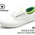 รองเท้าผ้าใบแฟชั่น Style converse พืันกันลื่นอย่างดี น้ำหนักเบา