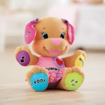 พร้อมส่ง Fisher-Price Laugh & Learn Love to Play Puppy pink ส่งฟรี