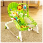 พร้อมส่งเปลสั่นอัตโนมัติเลียนแบบ Fisher price Newborn-to-Toddler Portable Rocker ส่งฟรี