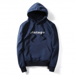 พร้อมส่ง เสื้อฮู้ด สีน้ำเงิน สกรีนด้านหน้า ผ้าฟรีช มีฮูท แจ็คเก็ตกันหนาวผู้ชาย แฟชั่นหน้าหนาว hoodie jacket