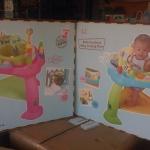 entertainer & เป็นเก้าอี้กิจกรรมหมุนได้ 360องศา มีแผ่่นเด๋งดึ๋ง /Baby Bounce bounce chair