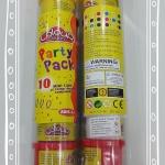 แป้งโดว์ party roll 10 กระปุก ส่งฟรี