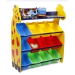 ชั้นวางของ ที่เก็บของเล่นเด็ก ยีราฟ (Giraffe Keeping Toy) ⚡️4ชั้นใหญ่พิเศษ⚡️ จัดส่งฟรีขนส่งเอกชน (ยะรา/ปัตตานี/นราธิวาส/แม่ฮ่องสอน และเกาะต่างๆ +200ค่ะ)