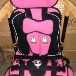 Child Car Seat คาร์ซีทแบบพกพา หรือ ที่นั่งในรถยนต์สำหรับเด็ก ชมพู