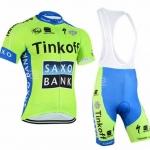 ชุดเอี้ยมแขนสั้นปั่นจักรยานลายทีม THINKOFF SY1 กางเกงเป้าเจล 3 D