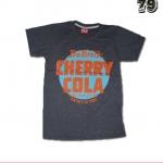 เสื้อยืดชาย Lovebite Size M - Cherry cola