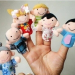 หุ่นนิ้วมือชุดครอบครัวหรรษา