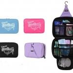 กระเป๋าอเนกประสงค์ สำหรับใส่อุปกรณ์อาบน้ำ ของใช้ส่วนตัวต่างๆ มีที่แขวนในตัว ใช้งานง่ายค่ะ