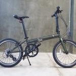 BANIAN : WIND SPEED 8s จักรยานพับเฟรมโครโมลี่ 8 สปีด