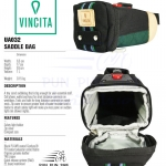 VINCITA : UA032 URBAN ADVENTURE : SADDLE BAG