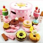 ชุดโดนัทหม้อกลมแสนหวาน I Love Doughnut Set