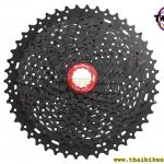 เฟือง SUNRACE รุ่น CSMX8 black/red 11 SPD ขนาด 11-46
