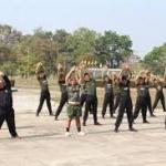 ออกกำลังกายทหาร