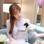 Sweetie Korea Pastel Blossom Blouse by Seoul Secret
