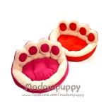 ที่นอนน้องหมา เบาะนอนรูปอุ้งเท้าน้องหมา ไซส์ S