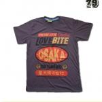 เสื้อยืดชาย Lovebite Size L - Vintage JPN Osaka