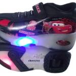 รองเท้าผ้าใบสเก็ต Heely shoes ลาย Car Size 32
