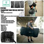 VINCITA : B131ALL กระเป๋าใส่จักรยานพับ มินิ