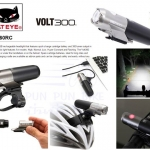 CATEYE : HL-EL460RC VOLT300 ไฟหน้า 300 ลูเมน USB