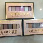 Sivanna colors 12 color eyeshadow palette ตกแต่งดวงตาให้สวยด้วยอายแชโดว์ ที่แม้แต่คุณสาวๆ มือใหม่ก็สามารถที่จะทำได้ด้วยตัวเอง ,