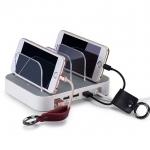 HOCO USB charging Dock ( UH403 ) 4 Ports Charging แท่่นชาร์จโทรศัพท์มือถือพร้อมกัน 4 เครื่อง เป็นระเบียบ วัสดุเกรด A