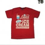 เสื้อยืดชาย Lovebite Size XXL - Ice Cream
