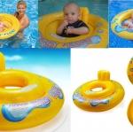 ห่วงยางสอดขา Intex - My baby float