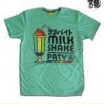 เสื้อยืดชาย Lovebite Size L - Milk Shake Party