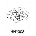ตราปั๊ม Happy New Year