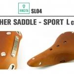 VINCITA : SL04 Leather Saddle : SPORT L Classic
