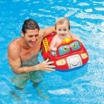 Intex Kiddie Floats ห่วงยางสอดขาว่ายน้ำสำหรับเด็ก ลายรถดับเพลิง