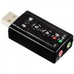 ขาย X-tips USB Soundcard จำลองเสียงแบบ 7.1 channel รองรับหูฟัง และ ไมค์สำหรับ PC Notebook