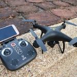 X25 GPS Selfie Drone+ปรับหน้ากล้อง+บินติดตามตัว
