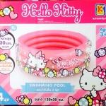 - สระน้ำเป่าลม Hello Kitty - ขนาด 120x30 cm ( 4 ฟุต )