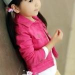 เสื้อ Jacket ยีนส์ สีชมพู - size 7