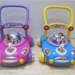 รถผลักเดิน Toddler Walker สีชมพู/ฟ้า