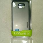 เคส Samsung Galaxy S6edge Spigen Armor สีเงินดำ