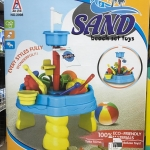 Play Usโต๊ะเล่นทราย+อุปกรณ์(กล่อง)รุ่น2098