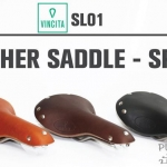 VINCITA : SL01 Leather Saddle : SPORT