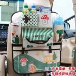 กระเป๋าสัมภาระติดด้านหลังเบาะรถยนต์ สีเขียว