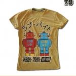 เสื้อยืดหญิง Lovebite Size L - Robot