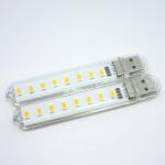 USB 8 Led 4w5v White