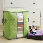 (มี 2 ขนาด) กระเป๋าจัดเก็บเสื้อผ้า ผ้านวม ผ้าห่ม ป้องกันเปื้อน กันฝุ่น ลดกลิ่นอับได้