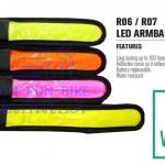 VINCITA : R07 LED armband / legband (ยาว)