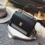 กระเป๋าเป้แฟชั่นนำเข้าดีไซน์น่ารักสไตล์เกาหลี วัสดุหนังPU