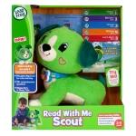 พร้อมส่ง Leapfrog Read with Me Scout ตุ๊กตาหมาสีเขียว อ่านหนังสือได้ ของแท้ ส่งฟรีพัสดุไปรษณีย์